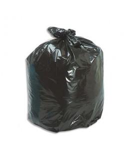 Boîte de 500 sacs-poubelles 30 litres noir 25 microns