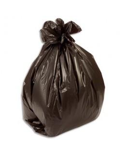 Boîte de 500 sacs-poubelles 30L noir 10 microns