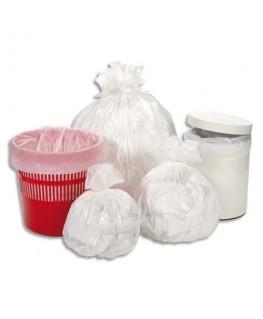 Boîte de 1000 sacs-poubelles 5-6 litres blanc