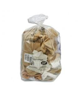 Boîte de 200 sacs-poubelles transparent qualité NF 110 litres 30 microns
