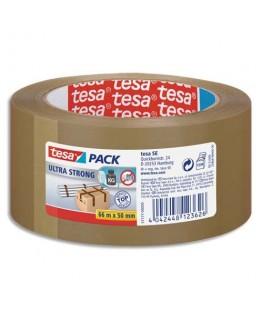 Ruban adhésif d'emballage PVC colle caoutchouc naturel havane 65 microns