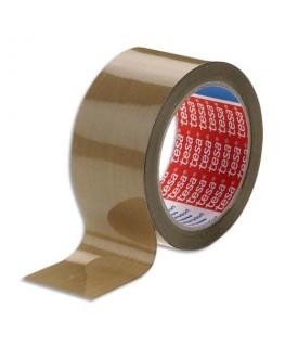 Ruban adhésif d'emballage polypropylène havane 48 microns