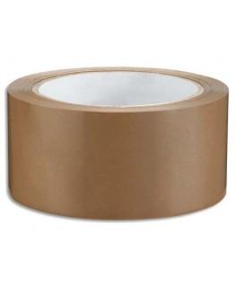 Ruban adhésif d'emballage silencieux en polypropylène havane 48 microns