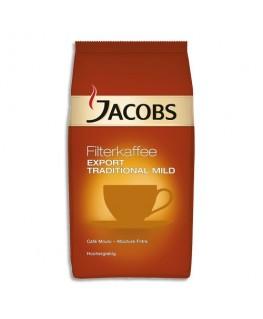 Paquet de 800g de café torréfié moulu d'Arabica et de Robusta Export léger - Jacobs