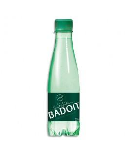 Bouteille plastique d'eau pétillante de 33 cl - Badoit®