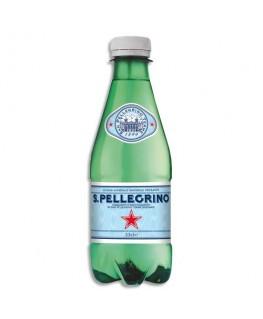 Bouteille d'eau minérale gazeuse de 33 cl - San Pellegrino®