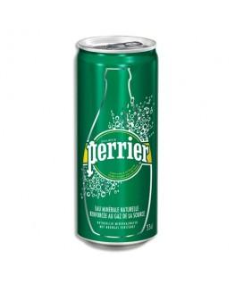 Canette d'eau pétillante de 33 cl - Perrier®