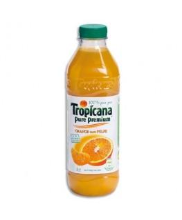 Bouteille plastique de jus d'orange - Tropicana®