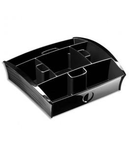 Plateau distributeur 13 cases en polystyrène noir Take a Break - CEP