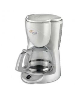 Cafetiére à filtre blanche 1000W