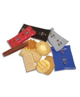 Boîte de 125 biscuits Furio d'environ 815g emballé individuellement - Miko®