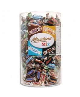 Assortiment de mini bonbons confiseries 3 kg -  Bounty
