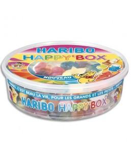 Boîte de 600g Happy Box assortiment de bonbons - Haribo