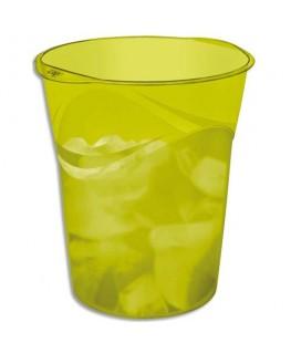 Corbeille à papier 14 L Happy vert - CEP