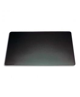 Sous-main classique en PVC souple 42 x 30 cm coloris noir - Durable