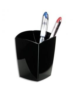 Pot à crayons en polystyrène coloris noir - 5 Etoiles
