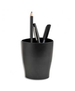 Pot à crayons ECO en polystyrène noir - 5 Etoiles