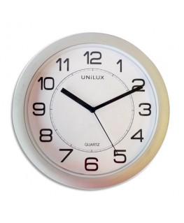 Horloge Attraction Gris métal