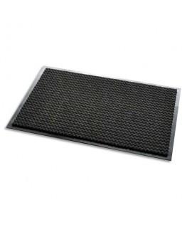 Tapis d'accueil Aqua Nomad noir 65 double-fibres 60 x 90 cm épaisseur 7.5 mm - 3M