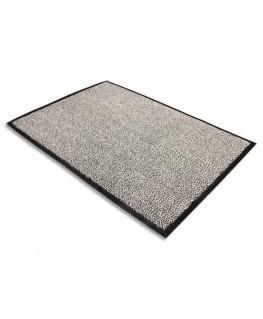 Tapis d'accueil Advantagemat gris en polypropylène 60 x 90 cm épaisseur 10 mm - Floortex®