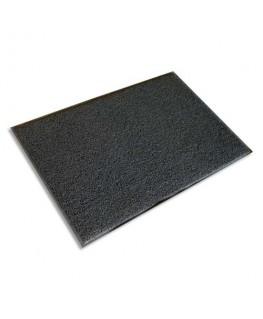 Tapis d'accueil d'extérieur gris semelle en vinyle 90 x 60 cm épaisseur 8 mm - Floortex®