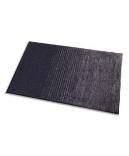 Tapis d'accueil 3 en 1 Gris en polypropylène et Polyester microfibre