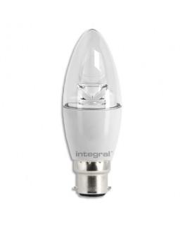 Ampoule flamme LED Cristal E14 5.5W blanc chaud - Integral