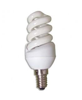 Ampoule Fluorescente spirale 9W culot E14 - Unilux