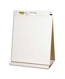 Bloc de 20 feuilles auto-adhésives blanches Meeting chart