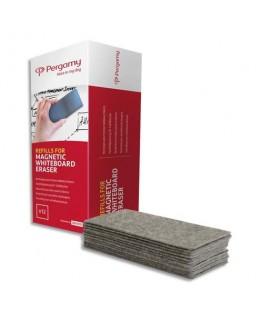 Paquet de 12 recharges pour brosse magnétique rechargeable - Pergamy