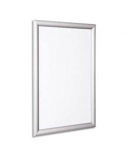 Vitrine d'intérieur compacte CLICK A4 cadre aluminium amovible - Bi-Office