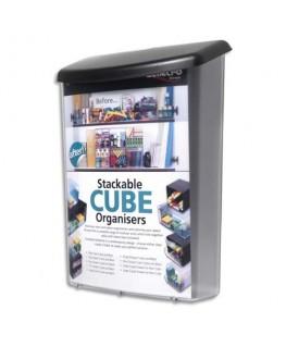 Boîte pour extérieur incassable avec protection UV format A4