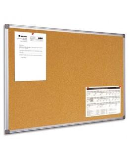Tableau d'affichage liège cadre PVC 60 x 90 cm - Bi-Office