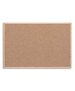 Tableau en liège avec un cadre bois