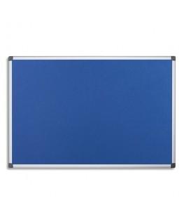 Tableau revêtement en feutrine bleu