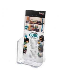 Porte-brochure A4 vertical une case 1/3 A4 - Deflect-o®