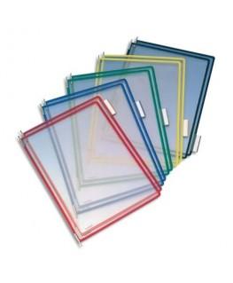 Paquet de 10 poches à pivots assortis