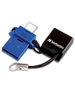 Clé USB 3.0 Store'N'Go Type C Dual 32Go 49966 + redevance - Verbatim®