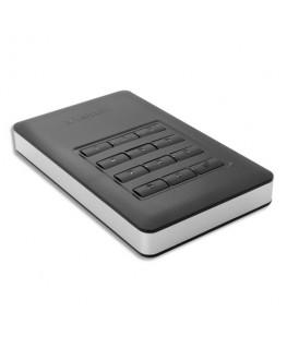 Disque dur 1To + keypad mot de passe Store'n'Go Secure Noir USB 3.1 GEN1 53401 - Verbatim®