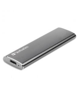 Disque dur SSD Slim VX500 Gris 120Go USB 3.1 GEN2 47441 - Verbatim®
