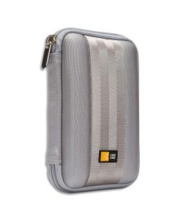 """Housse rigide nylon pour disque dur externe 2.5"""" Gris QHDC101G - Case Logic®"""