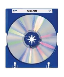 Porte 10 CD Max Tray coloris bleu - HAN