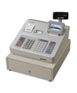 Caisse enregistreuse XE-A307 grand tiroir Blanche - Sharp®