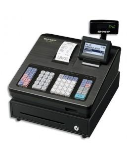 Caisse enregistreuse XE-A177 petit tiroir Noire XE-A177BKSF - Sharp®