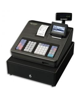 Caisse enregistreuse XE-A207 grand tiroir Noire - Sharp®