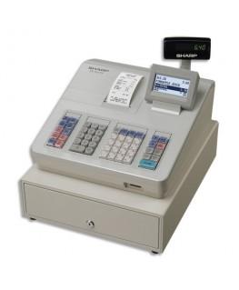 Caisse enregistreuse XE-A207 grand tiroir Blanche - Sharp®