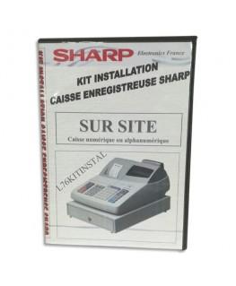 Kit installation (inclus mise en service sur site + aide) - Sharp®