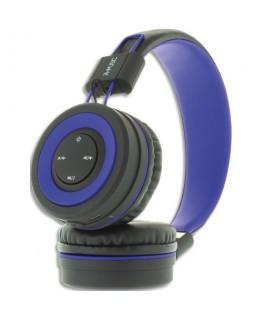 Casque bluetooth avec commande multimédia bleu RM310732 - Mobility Lab®