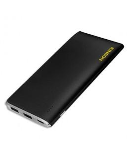 Chargeur Powerbank 5000 mH entrée micro USB sortie 2 USB noir D5 - Kineon