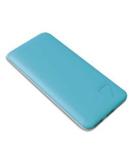 Chargeur PowerBank ultra slim S4 Puridea 6 600 mAH bleu - Mobility Lab®